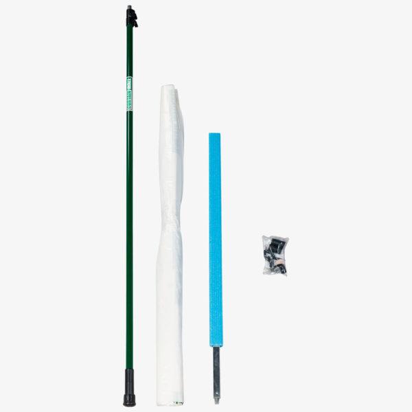 Curtain-Wall Staubschutzwand Erweiterung Ausbau Modul 90 cm