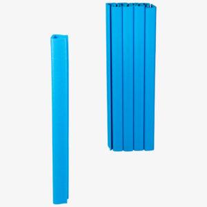 Seitenabdichtung für Curtain-Wall Staubschutzwand